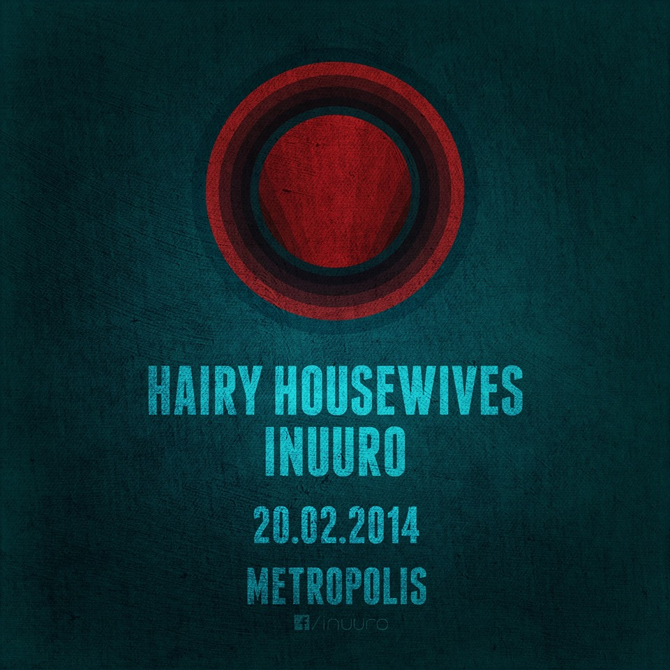 Konsert med Hairy Housewives & Inuuro torsdag 20. februar kl. 19.00