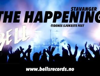 The Happening – Stavanger – lørdag 12. mars kl. 20.00
