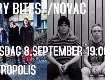 Novac // Gary Bites – Metropolis 8.september kl. 19.00