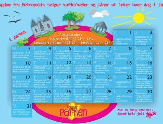Sommer i Parken – fra 1. juli til 31. juli, hvert år