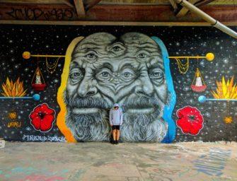 Workshop with street artist: URKU (Berlin)