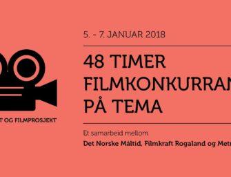 48 timer filmkonkurranse