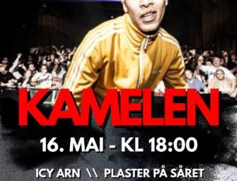 Kamelen LIVE på Metropolis 16. mai kl. 18.00 CC:50,-