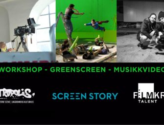 Workshop – greenscreen – musikkvideo lørdag 26. mai kl. 12.00