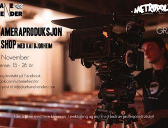 Flerkameraproduksjon Workshop med Kai Bjorheim 3. og 4. november kl. 12.00