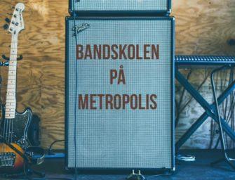 Bandskolen på Metropolis onsdag 7. november kl. 18.00