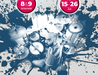 Free Drum Recording Workshop 8. og 9. desember kl. 12.00 – 16.00
