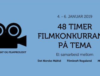 48 timer filmkonkurranse 4. -6. januar 2019