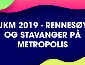 UKM Rennesøy og Stavanger 2019 – lørdag 9. mars kl 15.00 CC: 50,-