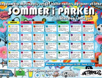 Sommer i Parken i hele juli