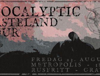 Apocalyptic Wasteland Tour // Metropolis fredag 23. august kl. 18.00 – AGENDA og Ormskrik – GRATIS