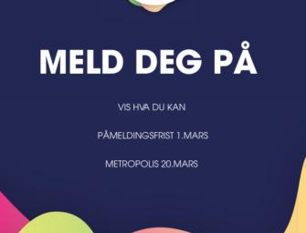 UKM Stavanger 2021 – påmeldingsfrist 1. mars