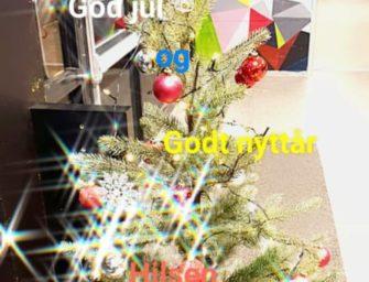 Juleferie fra lørdag 21. desember