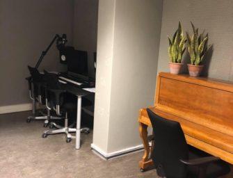 Forsatt korona – malt musikkstudio B